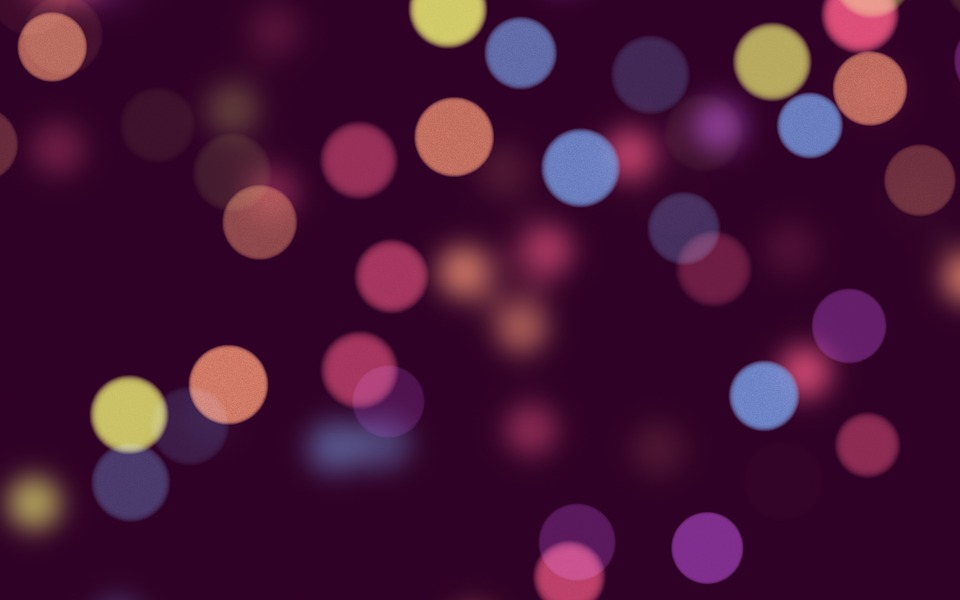 Free Illustration Bokeh Purple Texture Background