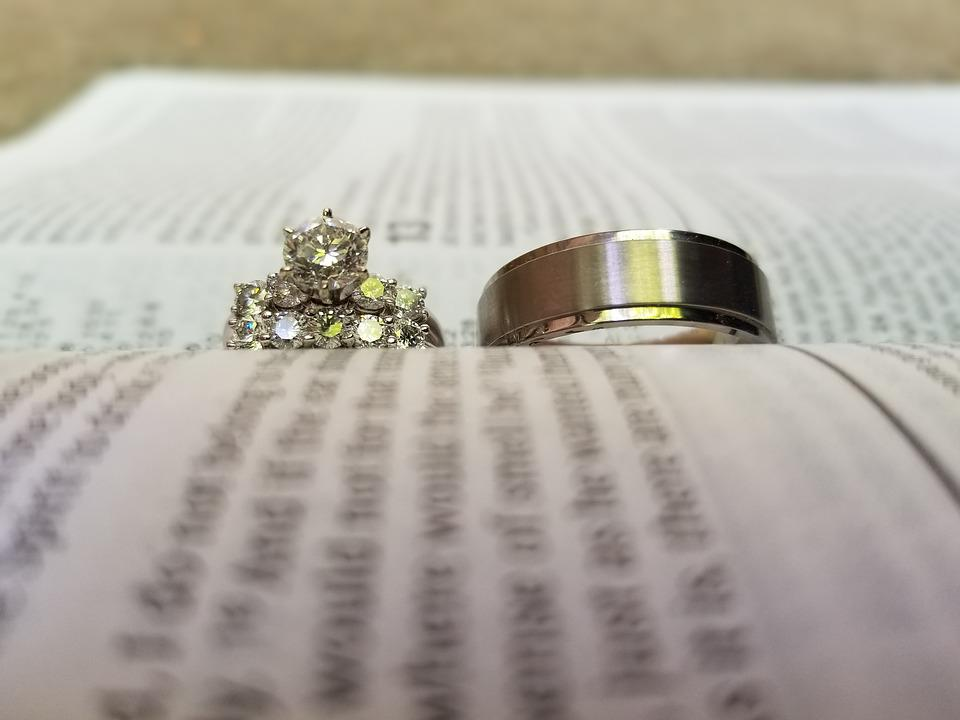 Wedding Rings Bible Free photo on Pixabay