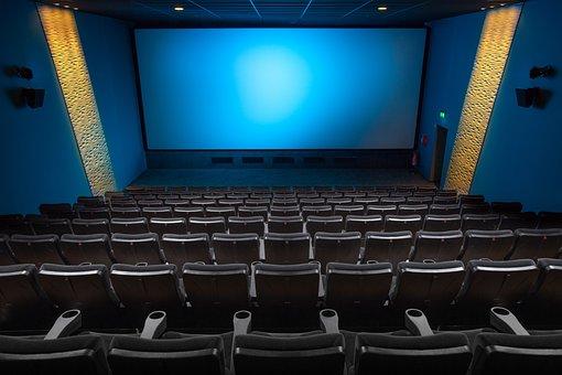 Cinema, salão, cinema, amantes do cinema