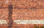 cegła, mur, kreda