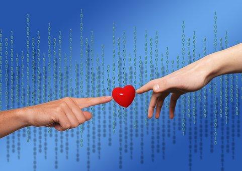 Matrix, Heart, Love, Communication