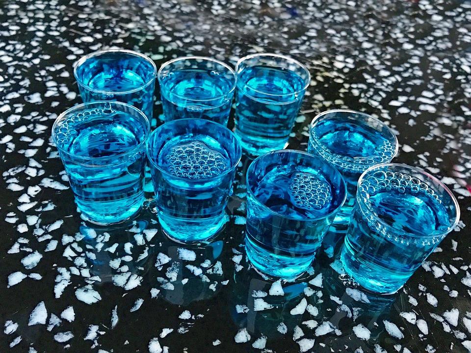 Beverages, Alcohol, Shot, Glasses, Drink