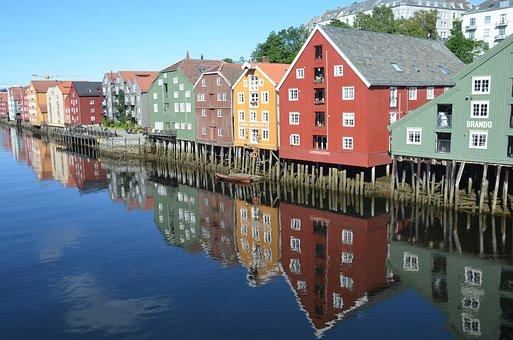 Trondheim, Norge, Huset