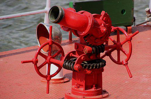 Fire Hose, Pump, Water, Fire, Equipment