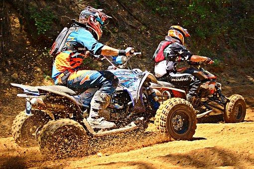 Quad Race, Motocross, Atv, Quad
