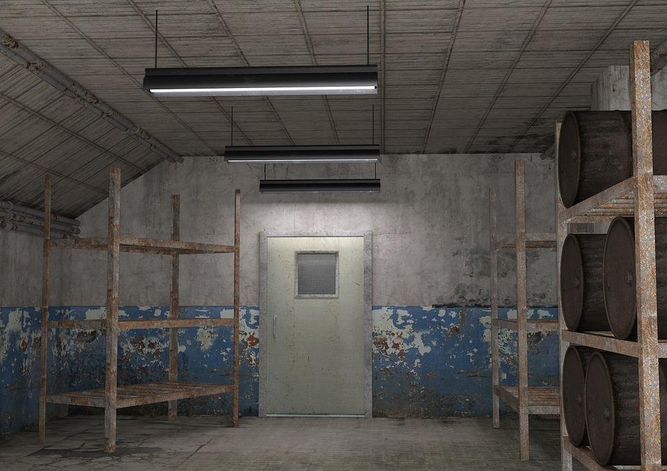 Interior Industrial Room Barrels · Free photo on Pixabay