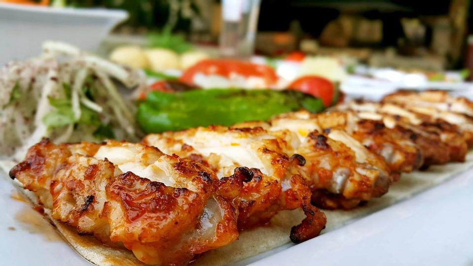 Kebaby żywności Kuchnia Turecka Darmowe Zdjęcie Na Pixabay