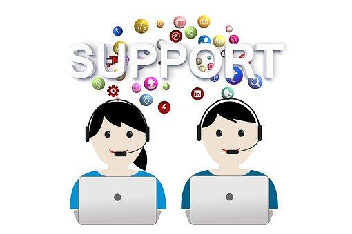 サポート, ヘルプ, コールセンター, ヘッドセット, サービス