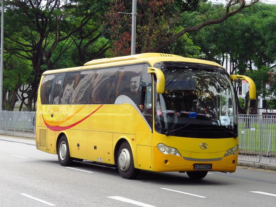 Bus Singapore Transport Gul 183 Gratis Foto P 229 Pixabay