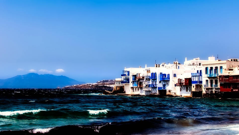 Mykonos in Greece Greek Islands