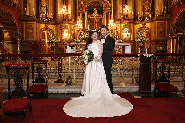 Matrimonio Catolico Tradicional : Wedding couple church · free photo on pixabay