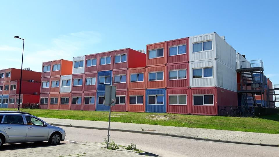 Contenedor Marítimo Casa Noodhuis · Foto gratis en Pixabay