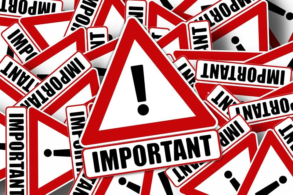 重要です, スタンプ, インプリント, 感嘆符, コールサイン, 注意してください, 注目, 情報, 重要性