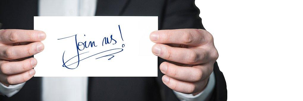 招待状, 訪問, 招待, シンボル, 手, 維持, リスト, コミュニケーション