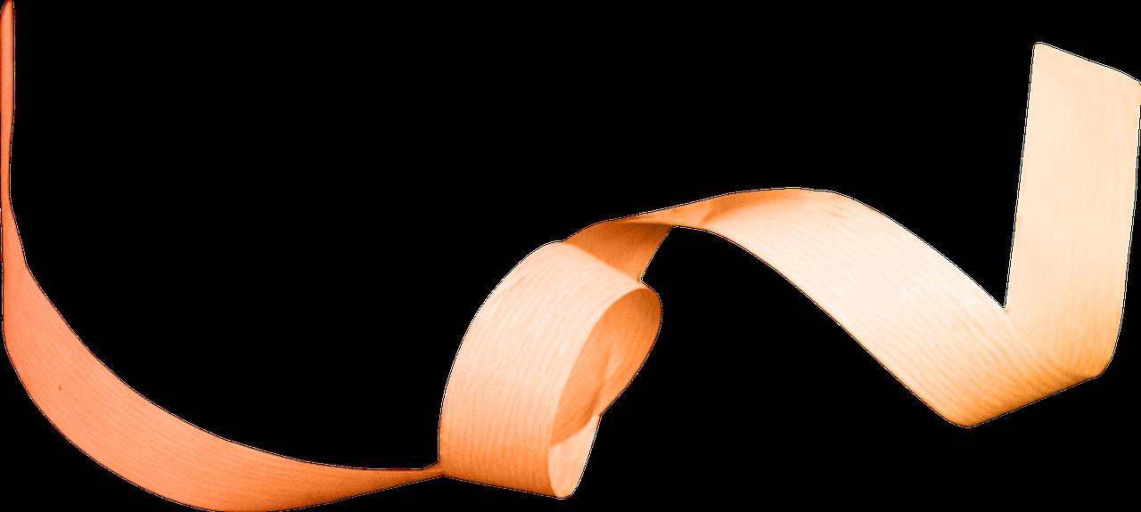 летящая лента рисунок качестве