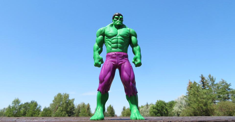 Incredibile Hulk, Supereroe, Verde, Strong, Forza