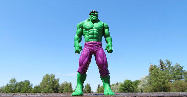 Incredible Hulk, Superhero, Green