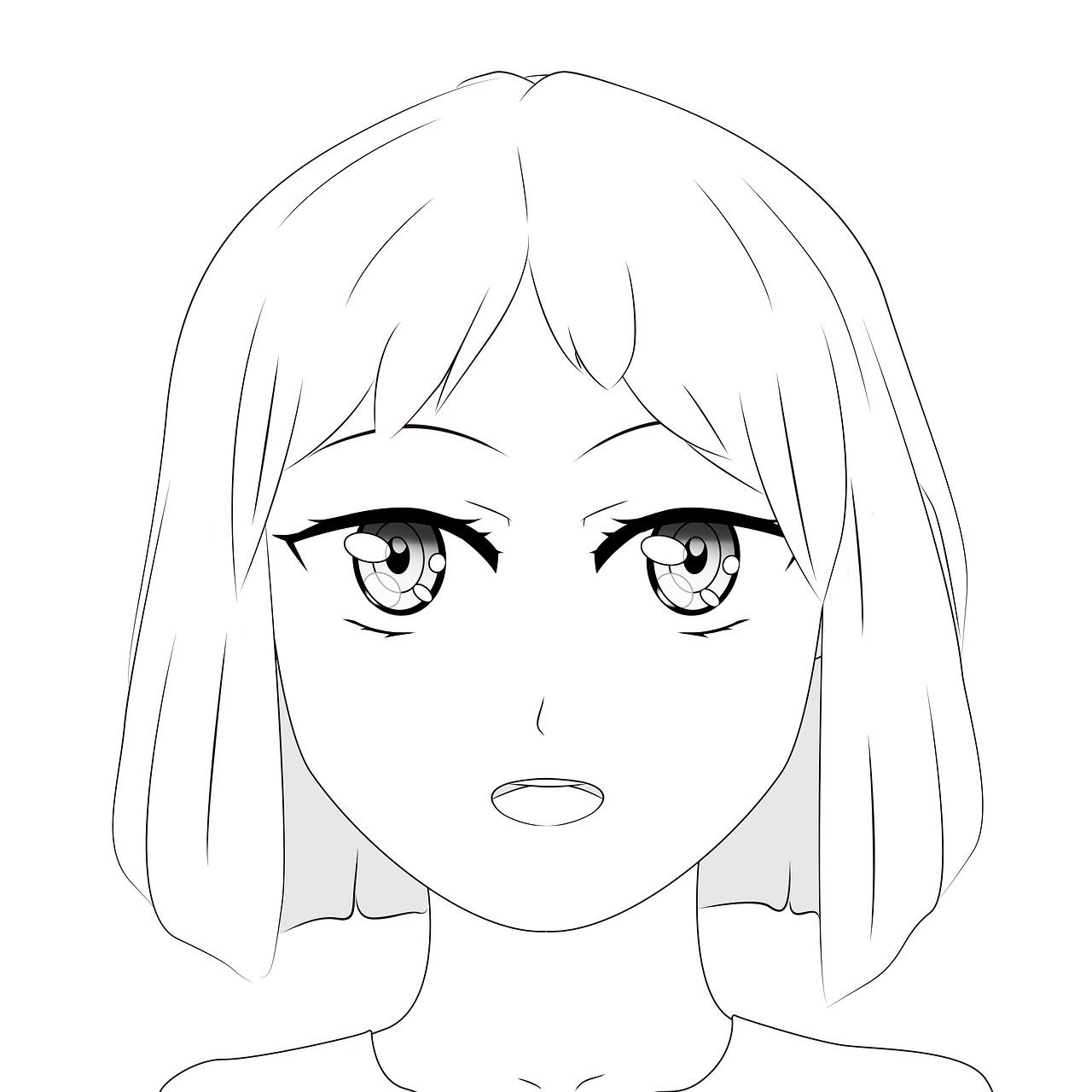 Drawing Anime Manga Free Image On Pixabay