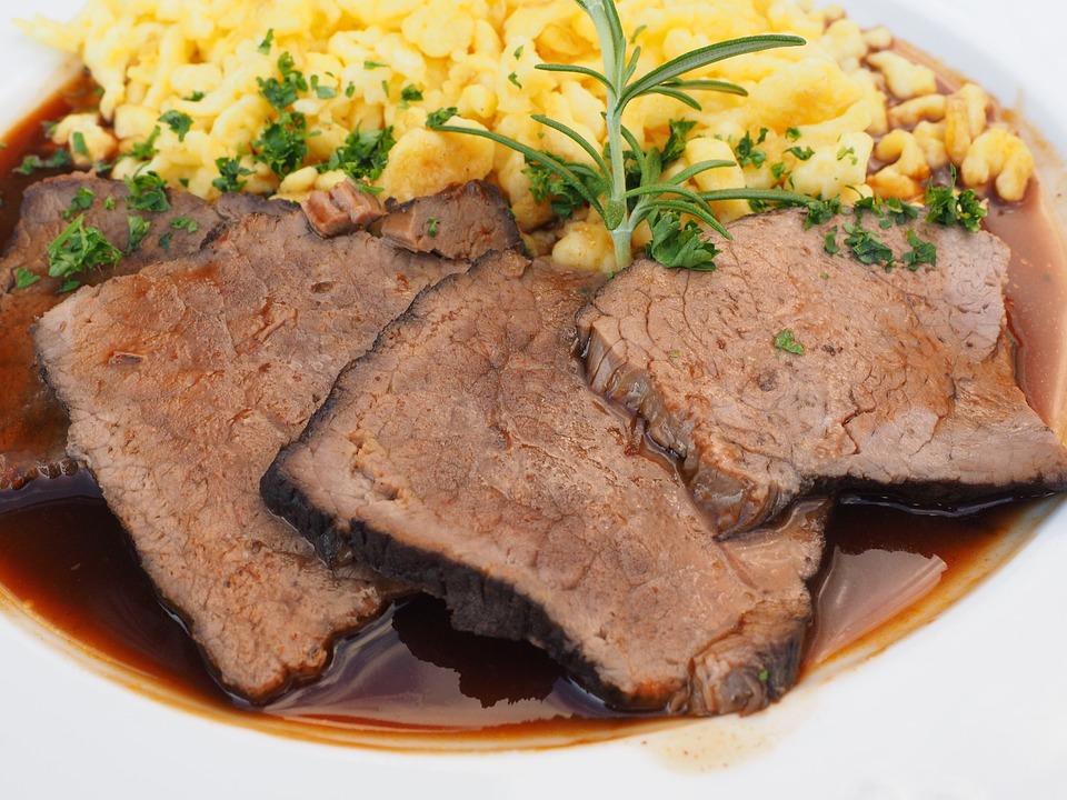 Sauerbraten, Carne, Piatto Di Carne, Brasato