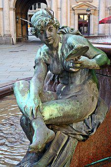 Sculpture, Statue, Hamburg