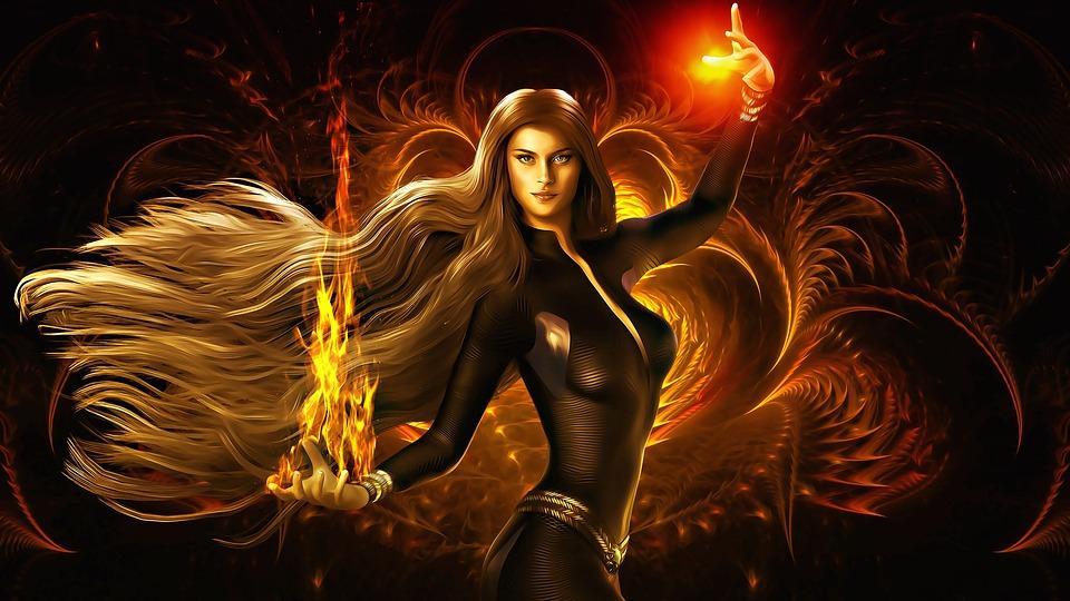 Lady Fire Com