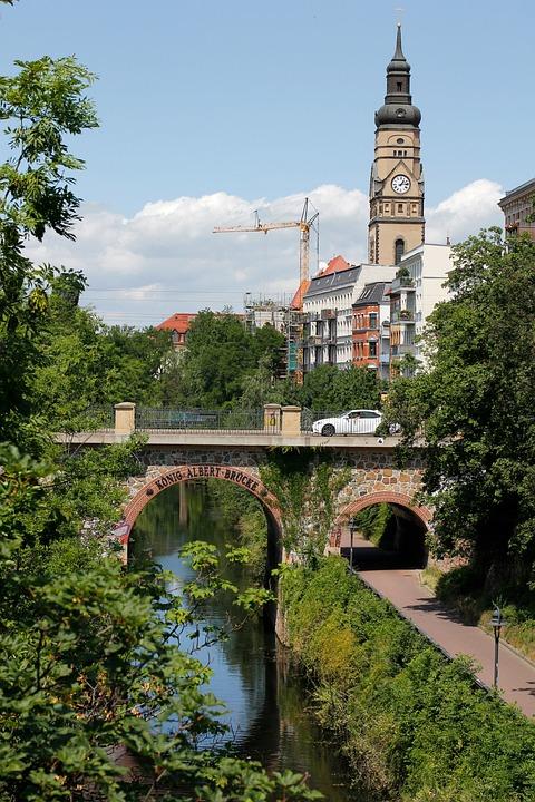 Fluss In Leipzig leipzig weisse elster fluss kostenloses foto auf pixabay