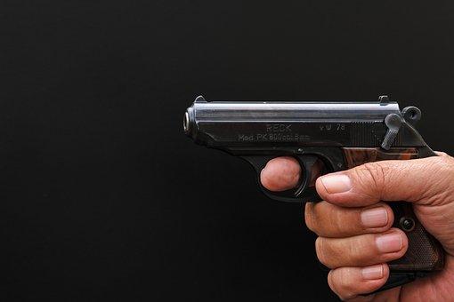 Pistol, Weapon, Hand Gun, Gun, Blank Gun