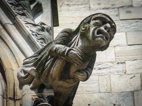 Gargoyle Sculpture Gothic Stone