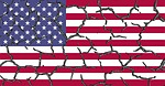 united states, cracks, cracked