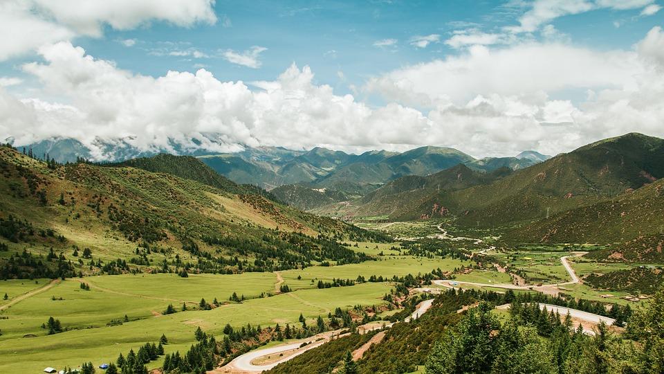 Resultado de imagem para paisagens do tibet