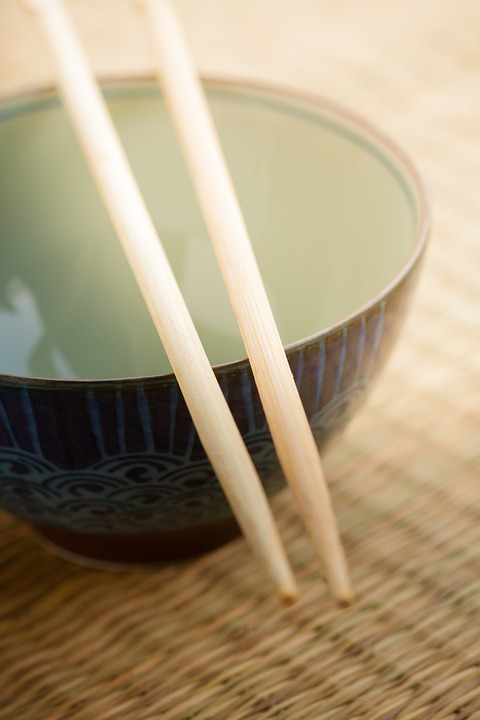 Bowl, Japanese, Asian, Meal, Food, Cuisine, Chopstick