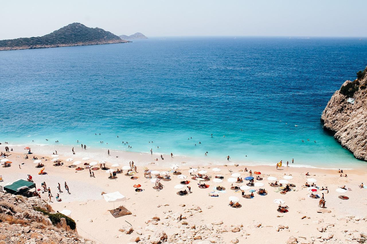 Пляжи турции на фото
