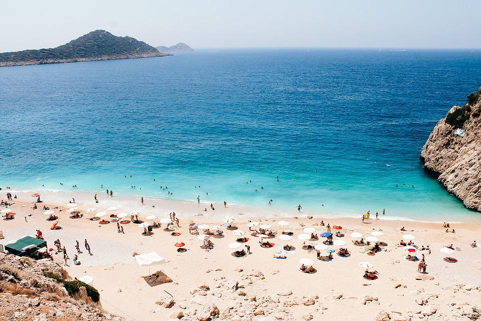 Kaputas, Antalya, Beach, Turkey, Vacations, Water, Sea