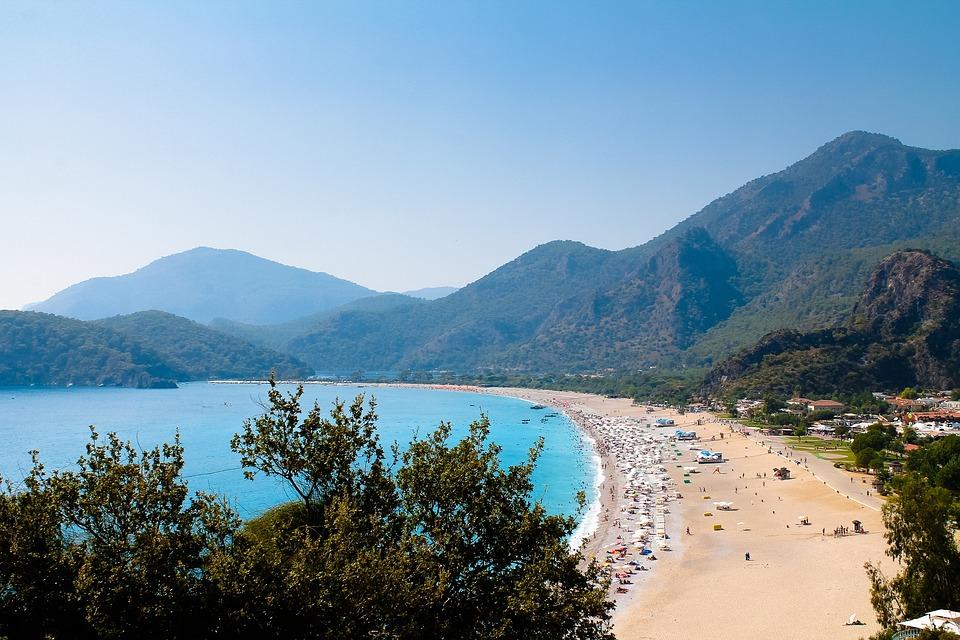 Morze, Beach, Turcja, Wakacje, Wody, Ocean