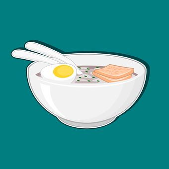 Bowl, Egg, Soup, Delicious, Food, Dinner