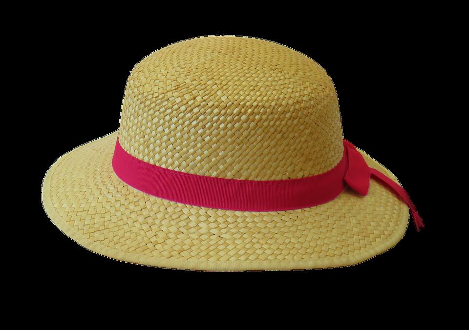 large brim beach hat