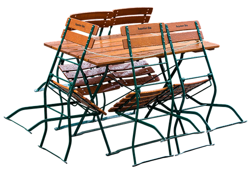 Beer Garden Folding Chairs Gastronomy