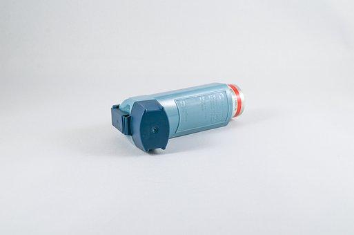 Inhalateur, Souffle, Asthme, Respiration
