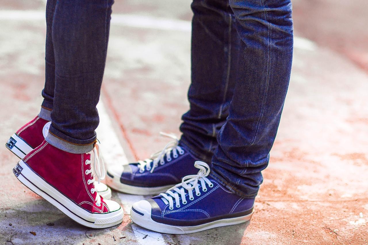 Converse Couple Love - Free photo on