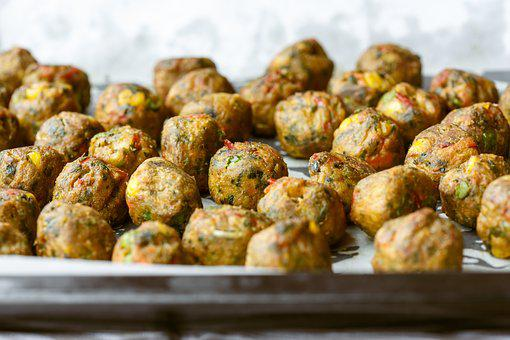Veggie Ball, Balls, Vegetarian, Healthy