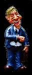 businessman, figure, funny