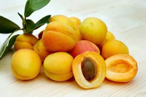 Apricots, Sugar Apricots, Fruit, Fruits