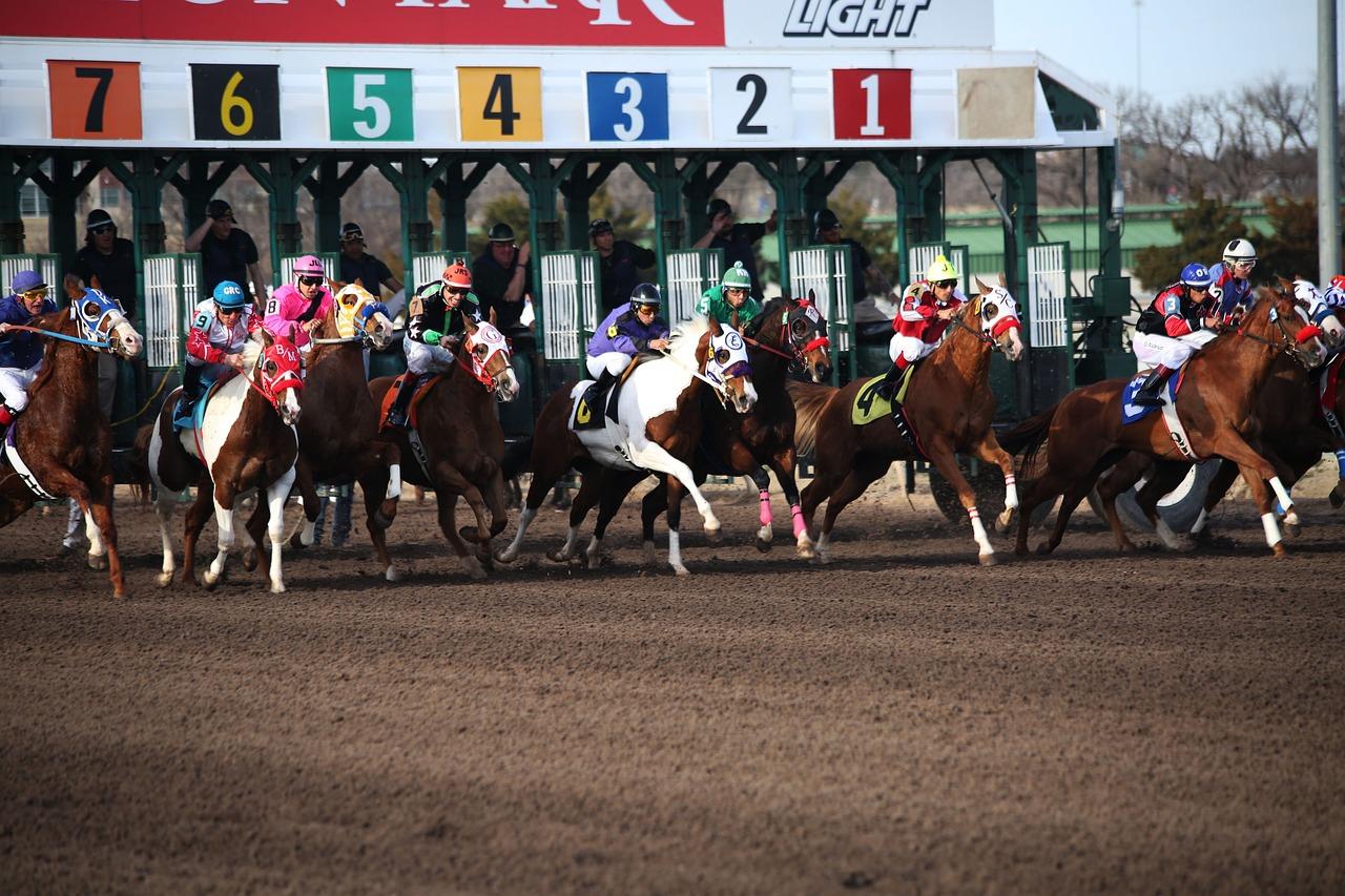 Paardenrace, gokken op paardenrennen