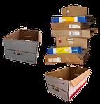 carton, boxes, movable