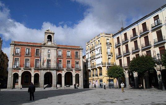 Vista Plaza Mayor Zamora