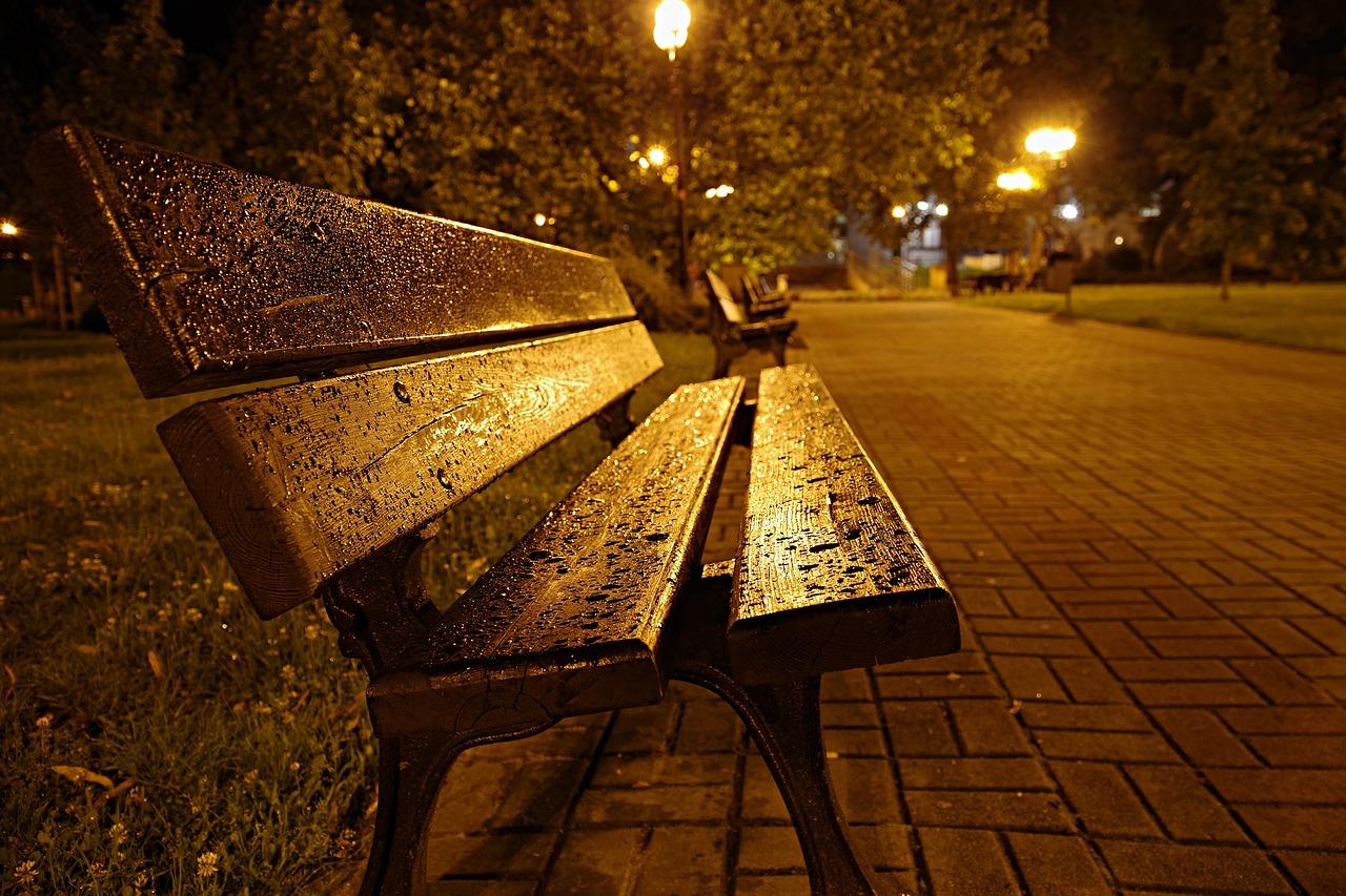 растеряться, картинки осень скамейки фонарь предлагаем вашему вниманию