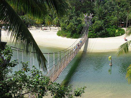 Sentosa Playa Singapur