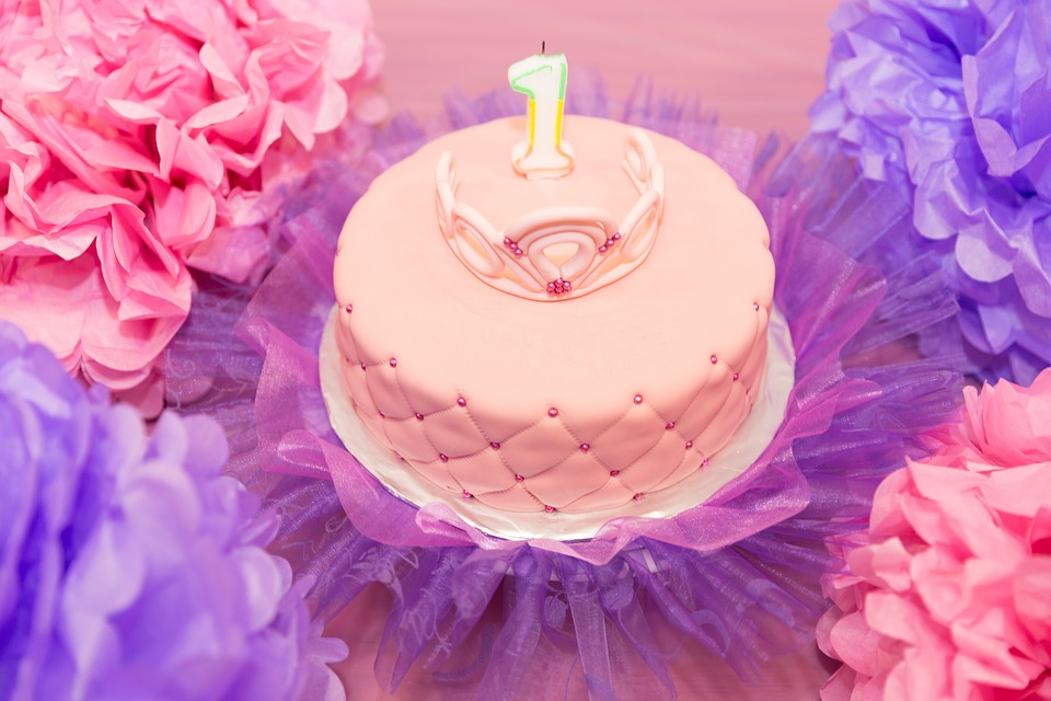 Fiesta De Cumpleaños, Celebración, Pastel, Niño