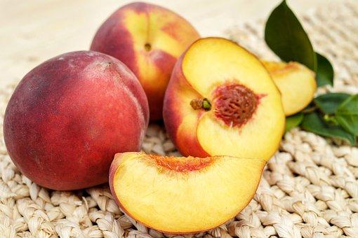 Peach, Fruit, Red, Ripe, Delicious