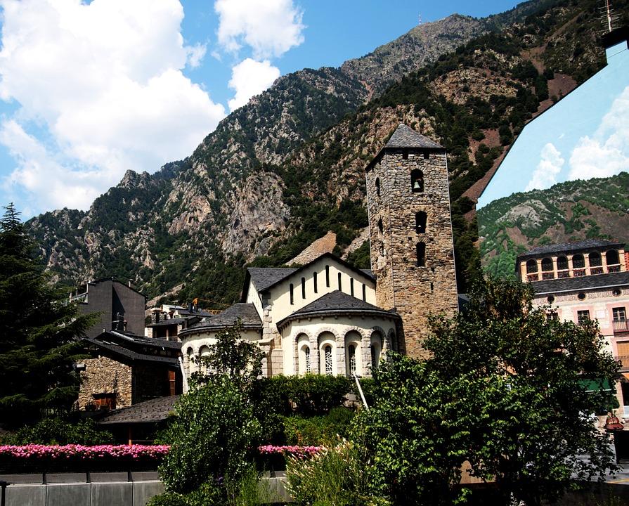 Iglesia, Andorra, Andorra La Vella, Pyrenees